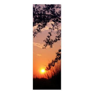 """Okavango Delta sunrise"" bookmark Pack Of Skinny Business Cards"