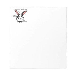 Okay bunny notepad