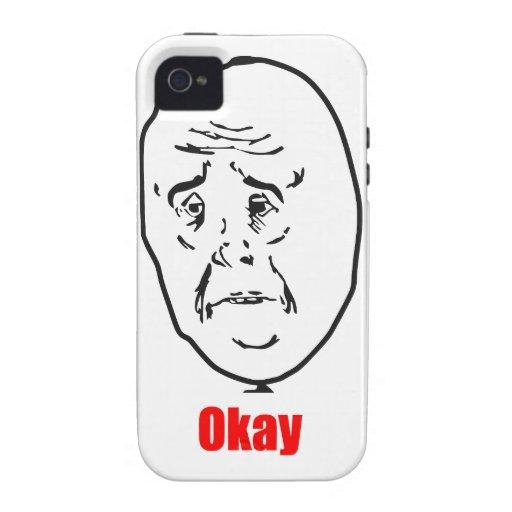 Okay - Meme iPhone 4/4S Cases