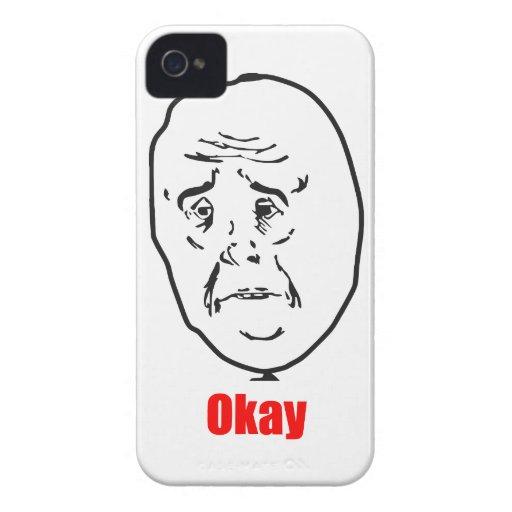 Okay - Meme Case-Mate iPhone 4 Case