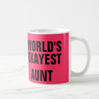 Okayest Aunt Coffee Mug