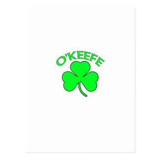 O'Keefe Postcards