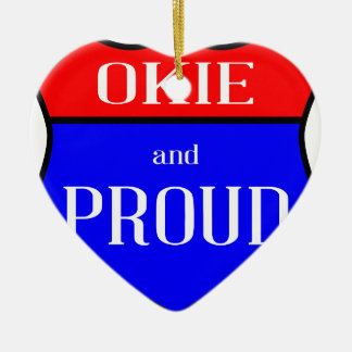 Okie And Proud Christmas Ornament