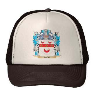Okie Coat of Arms - Family Crest Hat