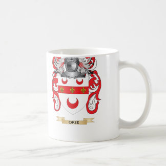 Okie Coat of Arms (Family Crest) Coffee Mugs