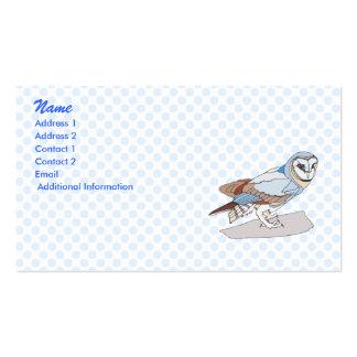 Okie Owl Business Card Template