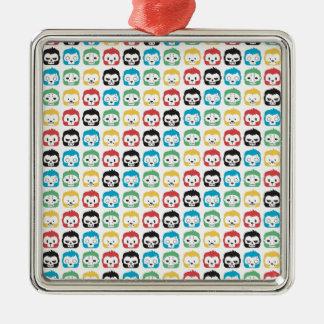 Okiiyo Rainbow Pattern Christmas Ornament