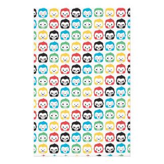 Okiiyo Rainbow Pattern Stationery