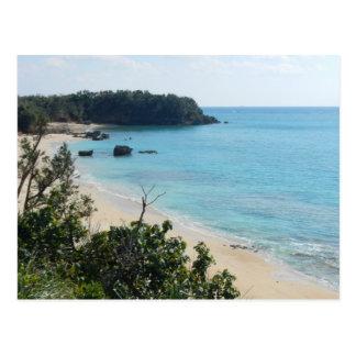 Okinawa Yanbaru Beach Photo Postcard