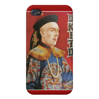 Okito ~ Oriental Magician Vintage Magic Act iPhone 4 Case