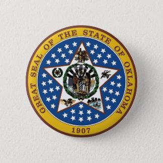 Oklahoma 6 Cm Round Badge