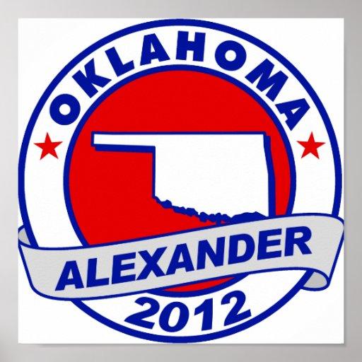 Oklahoma Alexander Print