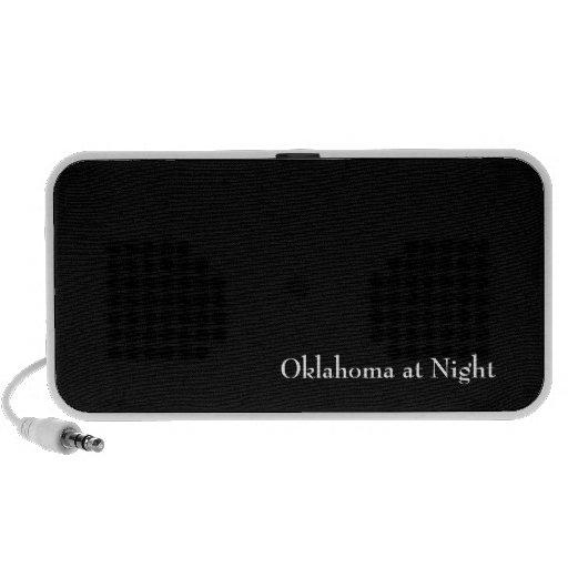 Oklahoma at Night iPod Speaker