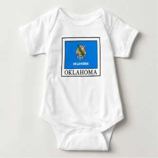 Oklahoma Baby Bodysuit