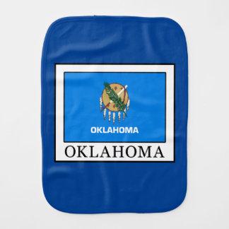 Oklahoma Baby Burp Cloth