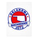 Oklahoma Bachmann Custom Invitation