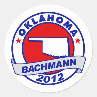 Oklahoma Bachmann Sticker