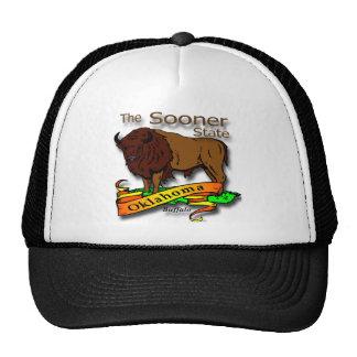 Oklahoma Buffalo Sooner State 2 Trucker Hat