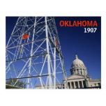 Oklahoma centennial postcard