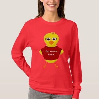 Oklahoma Chick Cute Cartoon Chicken T-Shirt