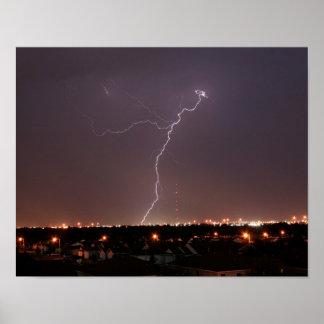 Oklahoma City Lightning Poster