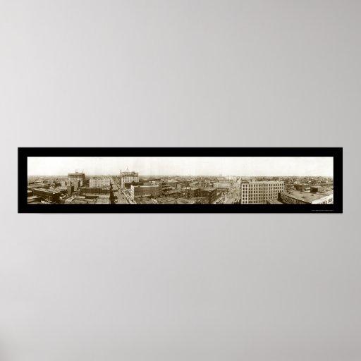 Oklahoma City, OK Photo 1910 Poster