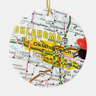 Oklahoma City, Oklahoma Christmas Ornament