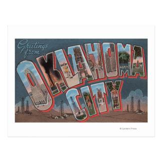 Oklahoma City, Oklahoma (Oil Fields) Postcard