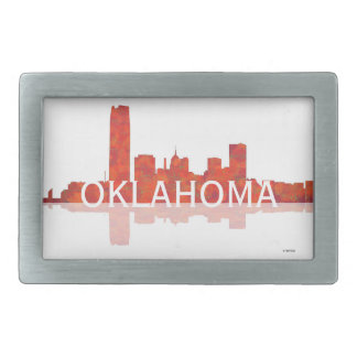 OKLAHOMA CITY SKYLINE - Belt Buckle