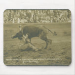 Oklahoma Culy bulldogging. Mouse Pads