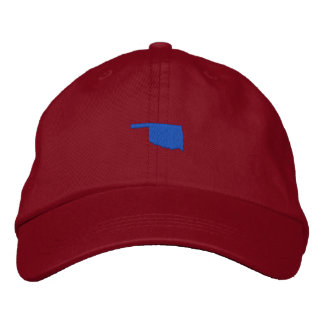 Oklahoma Embroidered Hat