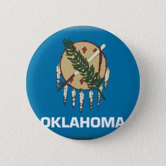 Oklahoma Flag 6 Cm Round Badge