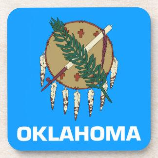 Oklahoma Flag Beverage Coaster