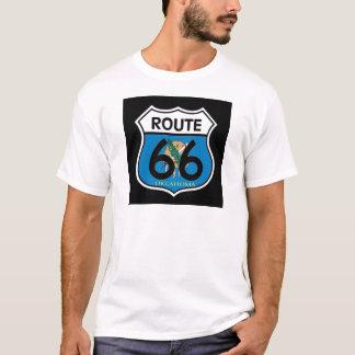 Oklahoma flag Route 66 Shield T-Shirt