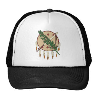 Oklahoma Flag Theme 00 Trucker Hat