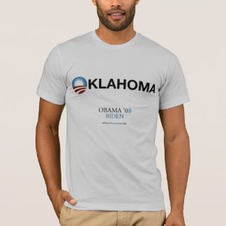 Oklahoma for Obama T-Shirt