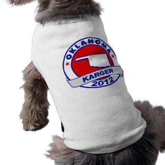 Oklahoma Fred Karger Dog Tshirt