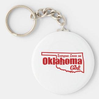 Oklahoma Girl Key Ring