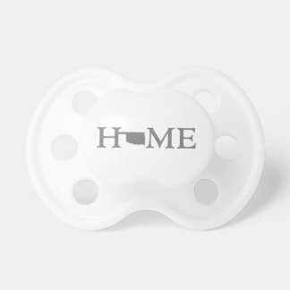Oklahoma HOME State Baby Pacifier