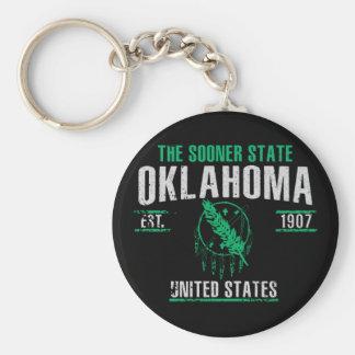 Oklahoma Key Ring