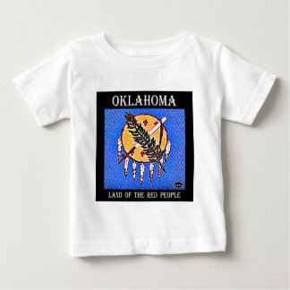Oklahoma Land of the Red People T Shirts