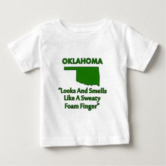 Oklahoma - Looks and Smells Like a Foam Finger T Shirts