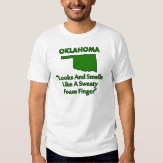 Oklahoma - Looks and Smells Like a Foam Finger Tee Shirt