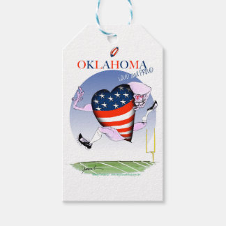 oklahoma loud and proud, tony fernandes gift tags