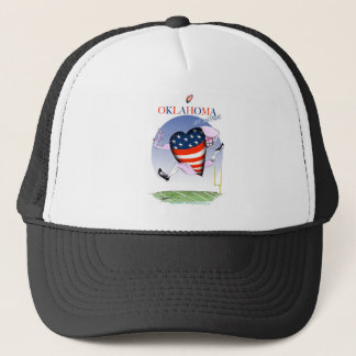 oklahoma loud and proud, tony fernandes trucker hat