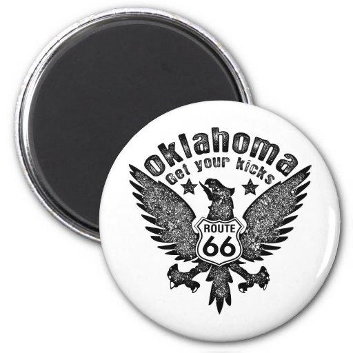 Oklahoma Fridge Magnets