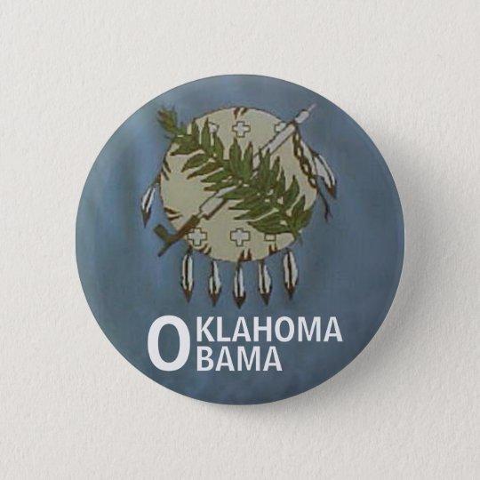 OKLAHOMA OBAMA Button