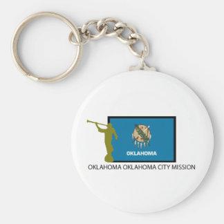 OKLAHOMA OKLAHOMA CITY MISSION LDS CTR KEY RING