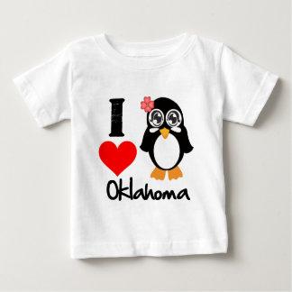 Oklahoma Penguin - I Love Oklahoma T Shirts