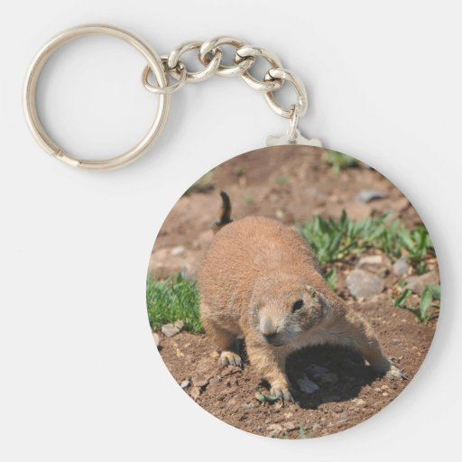 Oklahoma Prairie Dog Key Chain